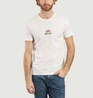 T-shirt Riviera à broderie