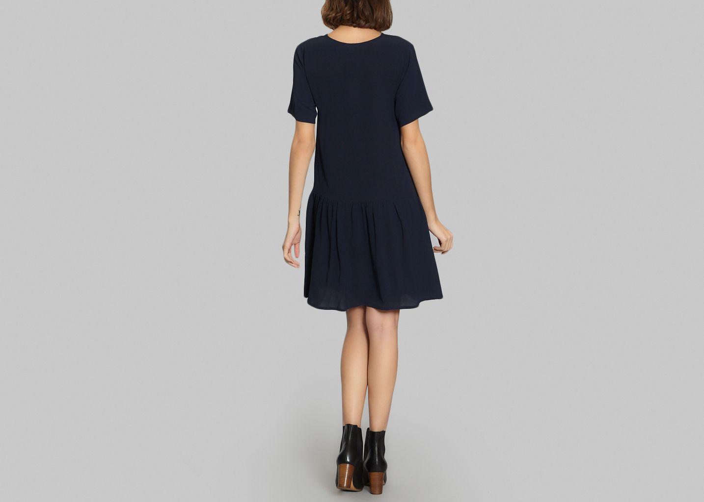 robe rosanna jolie jolie bleu marine l39exception With robe jolie jolie