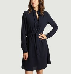 Laurène Crêpe Dress