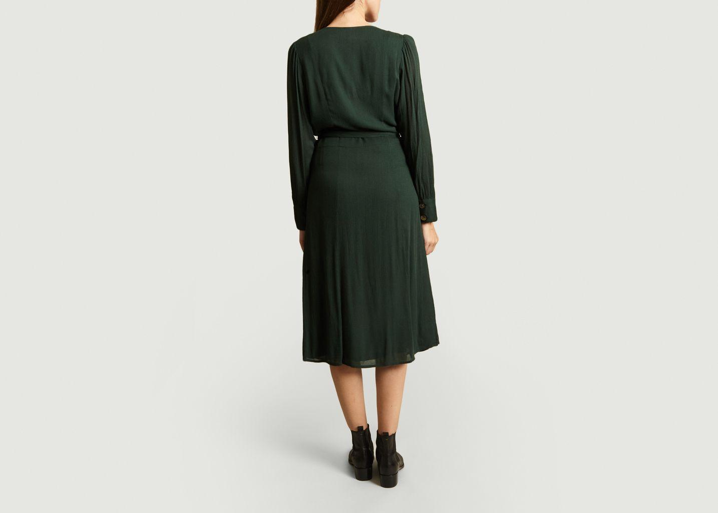 Robe Boutonnée Et Ceinturée Ninon - Jolie Jolie