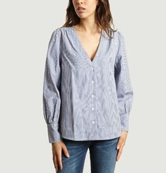 Ava Striped Shirt