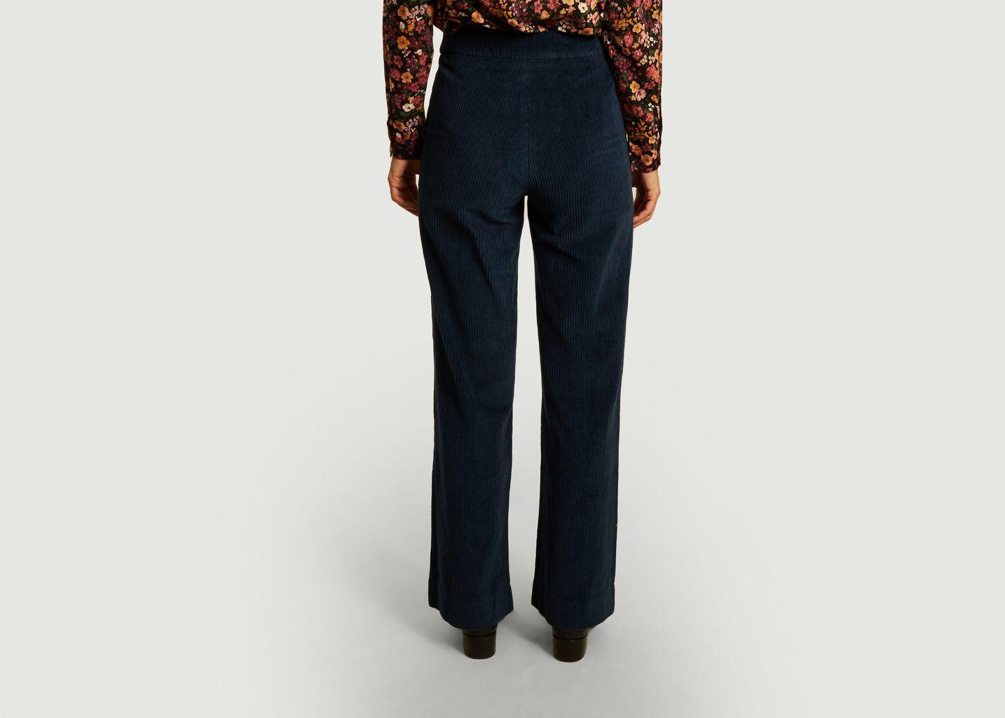 Pantalon en velours côtelé Willy - Jolie Jolie