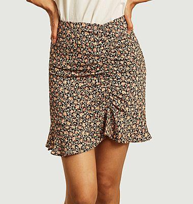 Mini jupe imprimé fleuri Claudia Gardenia