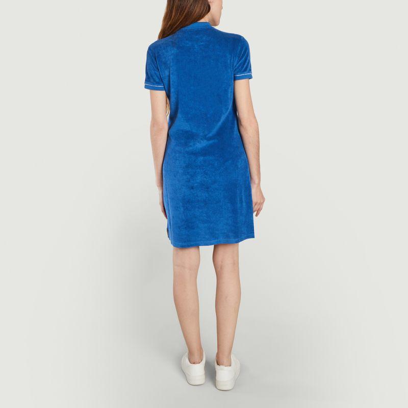Robe Polo éponge Violette - JOTT