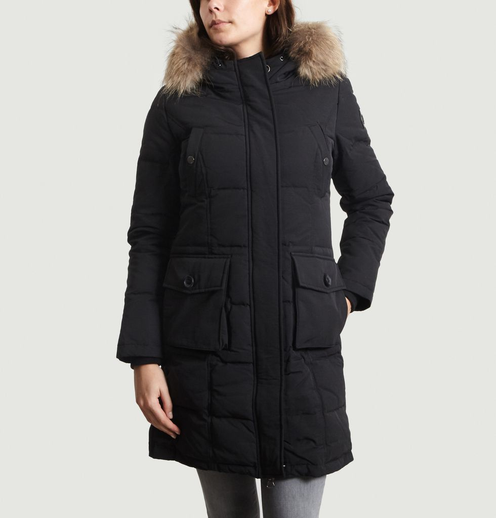 Noir Over Longue River The Just TopL'exception Parka y6mYbgIf7v