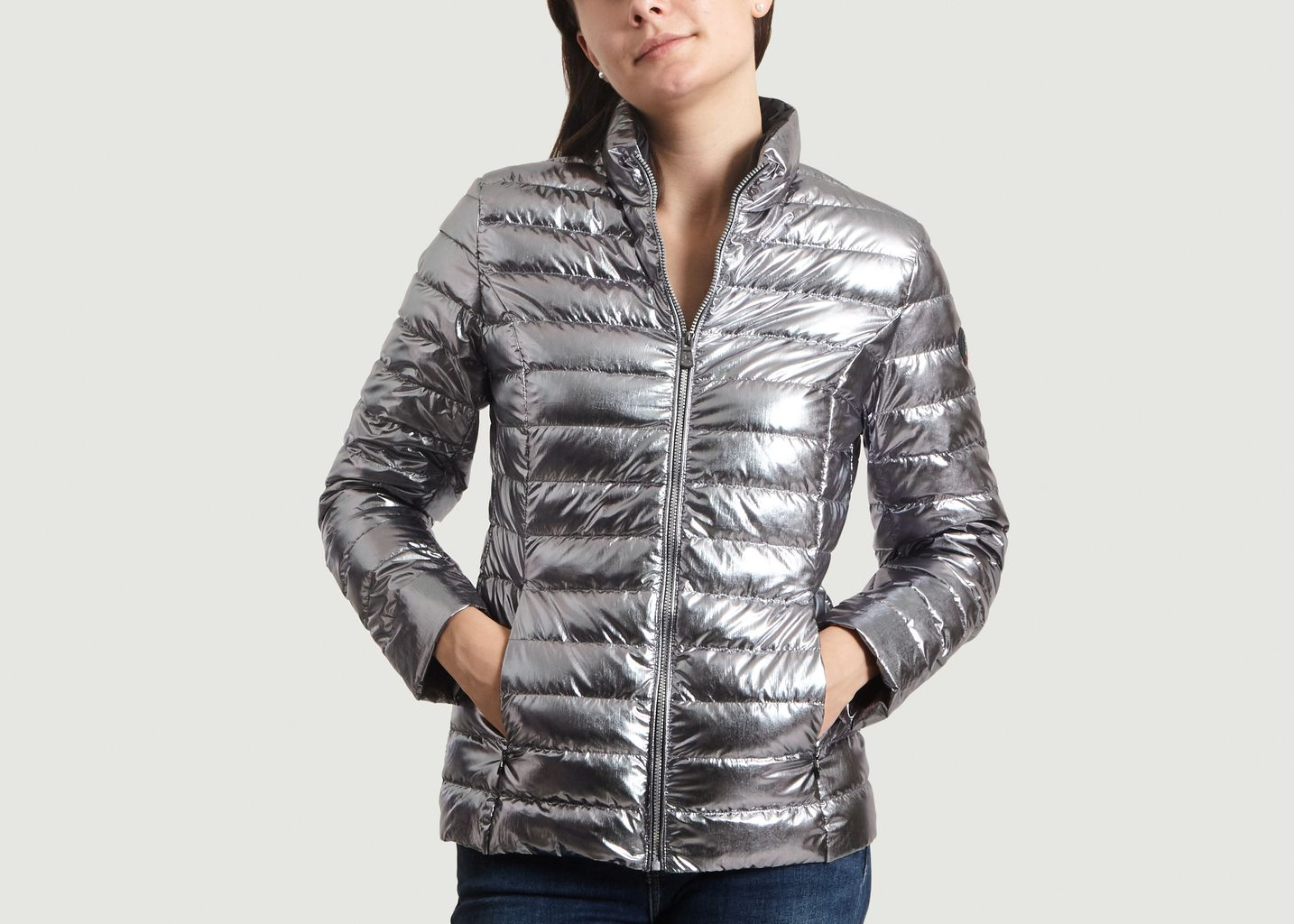 grande vente 5d123 d0341 Metallic Padded Jacket