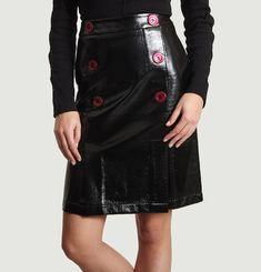 Tartan Vinyl Skirt