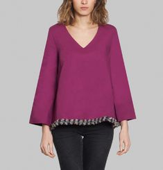 Wednesday 13h28 Blouse