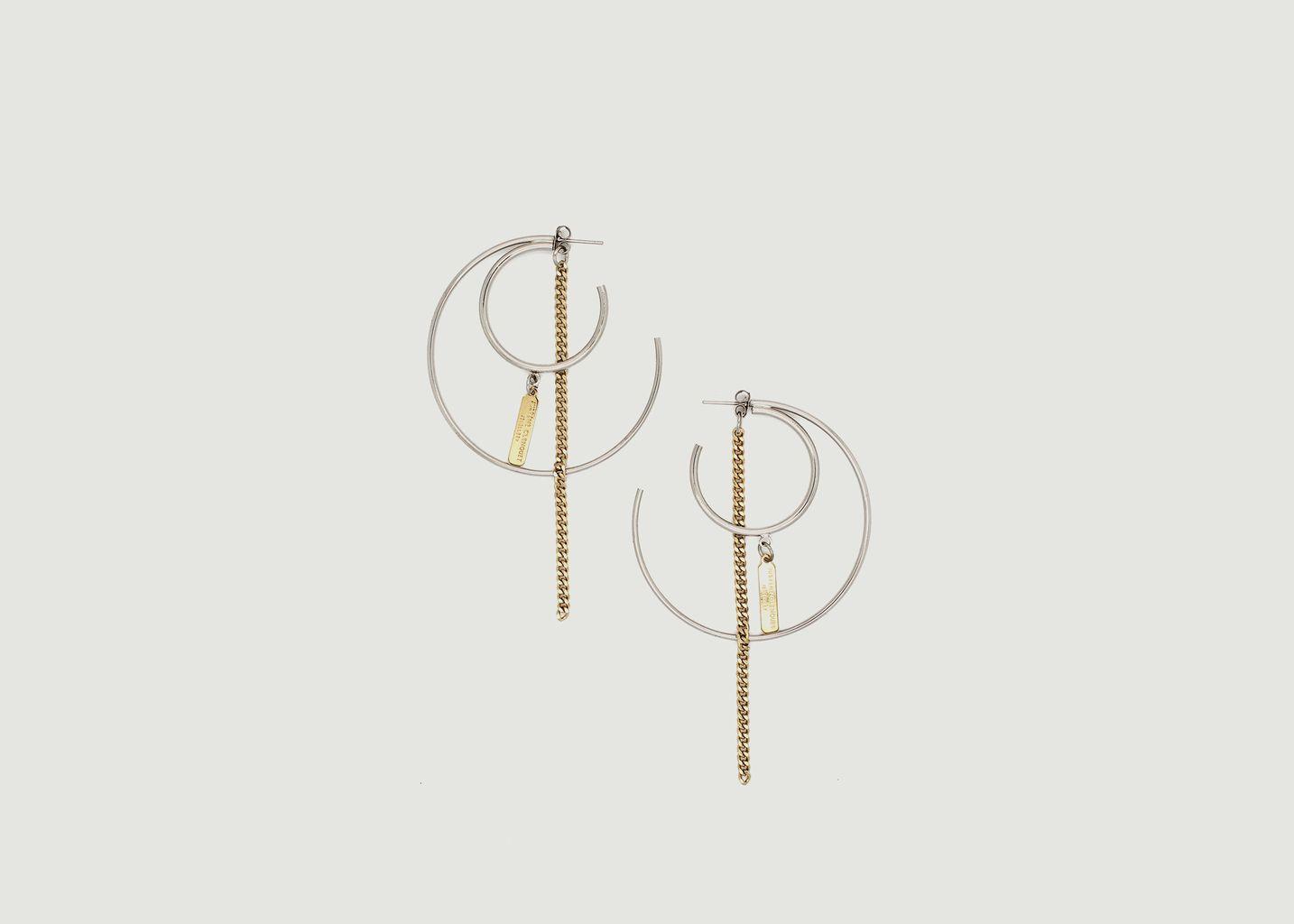 Boucles d'Oreilles Ali - Justine Clenquet