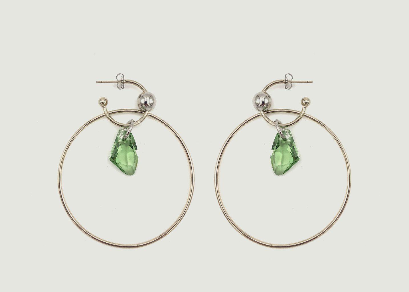 Boucles d'Oreilles Ariane - Justine Clenquet