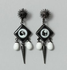 King Of Shadows Earrings