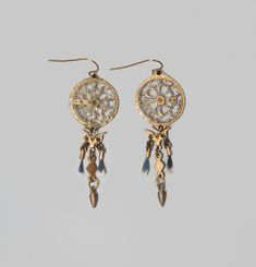 Boucles d'Oreilles Winged Chronos