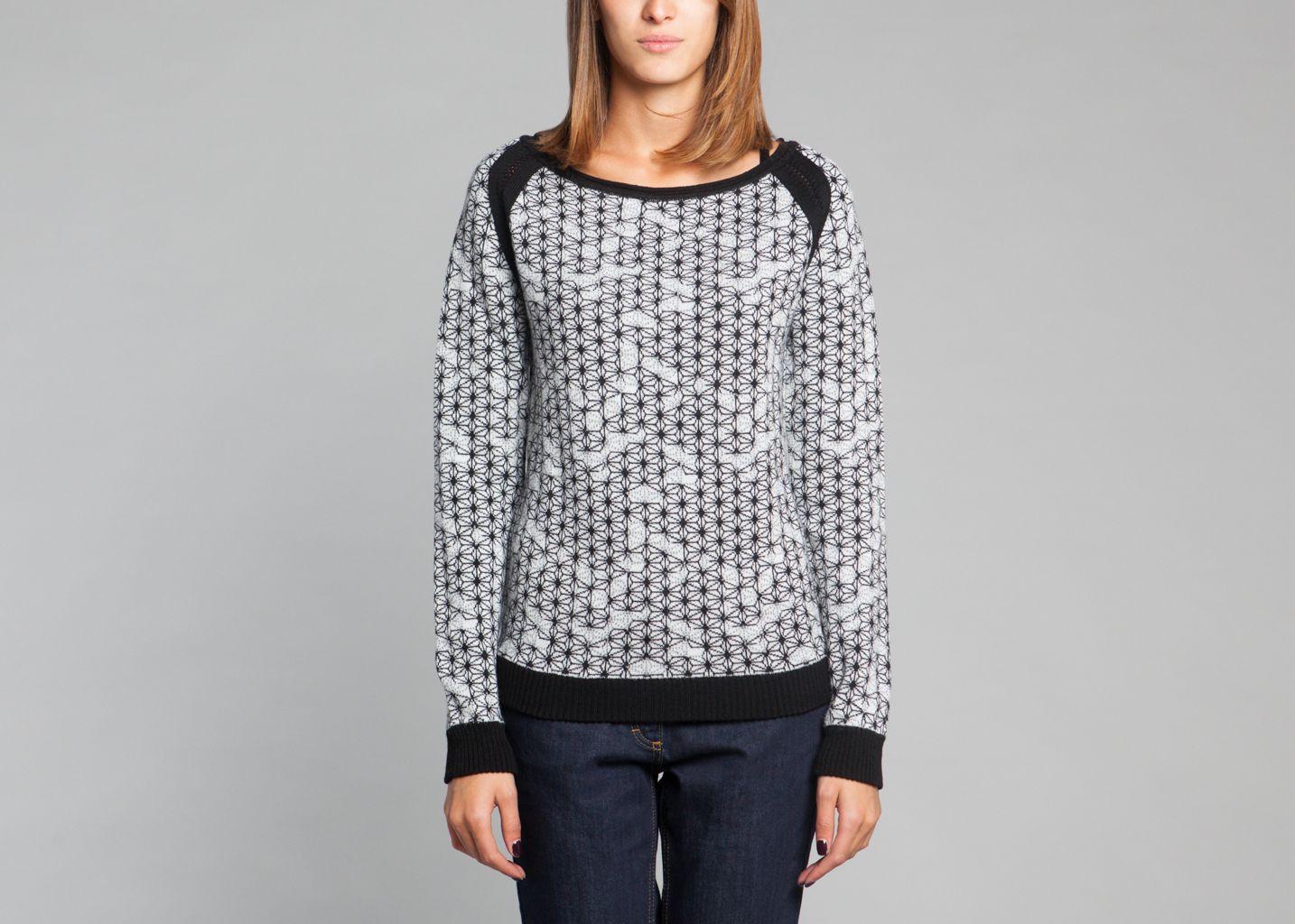 66441e361 Sako Sweater White Karine Lecchi
