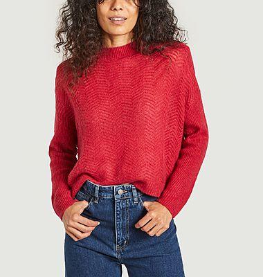Benson herringbone loose sweater