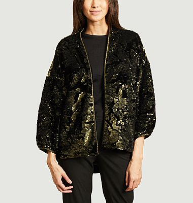 Veste oversize à sequins Flash