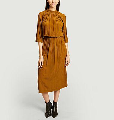 Robe longue manches 3/4 Piaf
