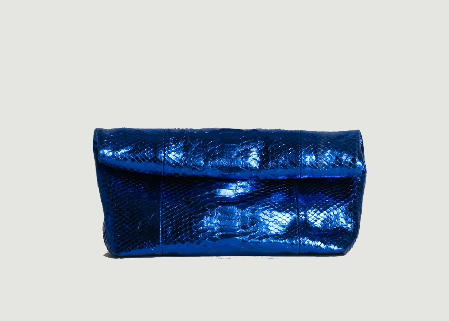 Pochette en cuir de python Bono - Karma Koma