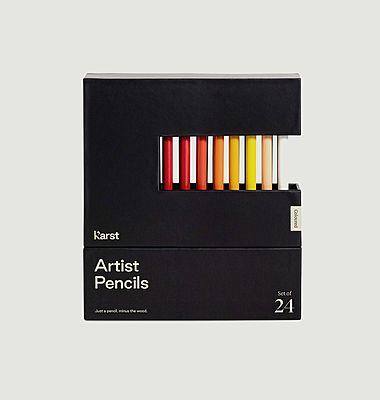 Crayons d'artiste - Lot de 24