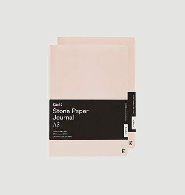 A5 Journal quotidien - Pack de deux
