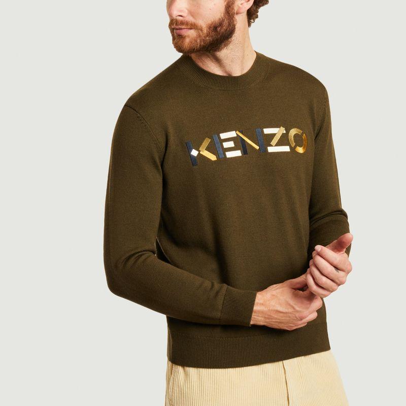 Pull logo en laine - Kenzo