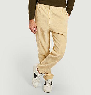 Pantalon droit velours