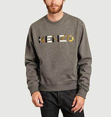 Sweatshirt logotypé brodé