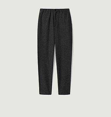Pantalon de jogging en laine