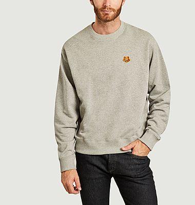Sweatshirt brodé Tiger Crest