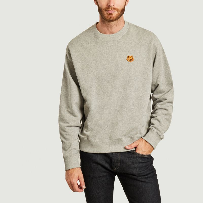 Sweatshirt brodé Tiger Crest - Kenzo
