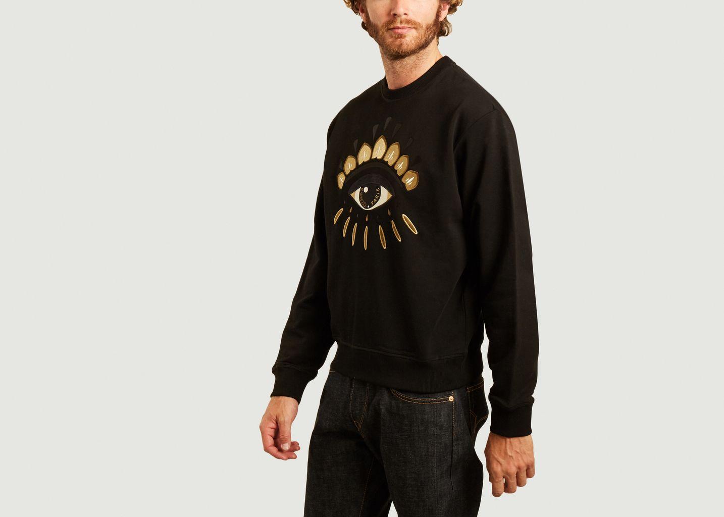 Sweatshirt brodé Eye Classic - Kenzo