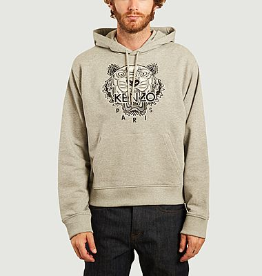 Tigre Varsity embroidered hoodie