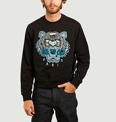 Sweatshirt brodé Varsity Tiger