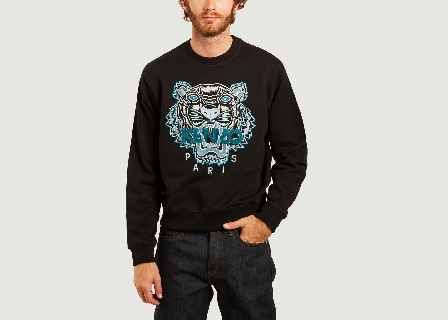 Sweatshirt brodé Varsity Tiger - Kenzo