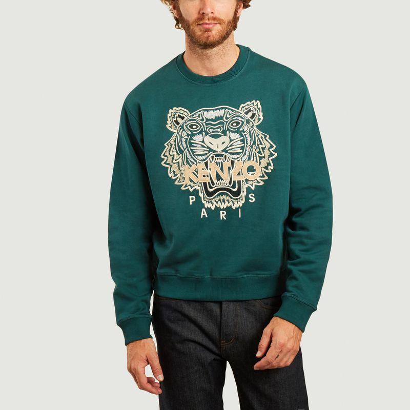 Sweatshirt brodé Tigre - Kenzo