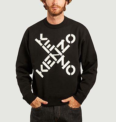 Sweatshirt imprimé Kenzo Sport Big X
