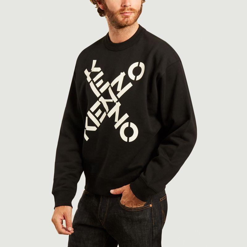 Sweatshirt imprimé Kenzo Sport Big X - Kenzo