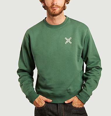 Sweatshirt imprimé Kenzo Sport X