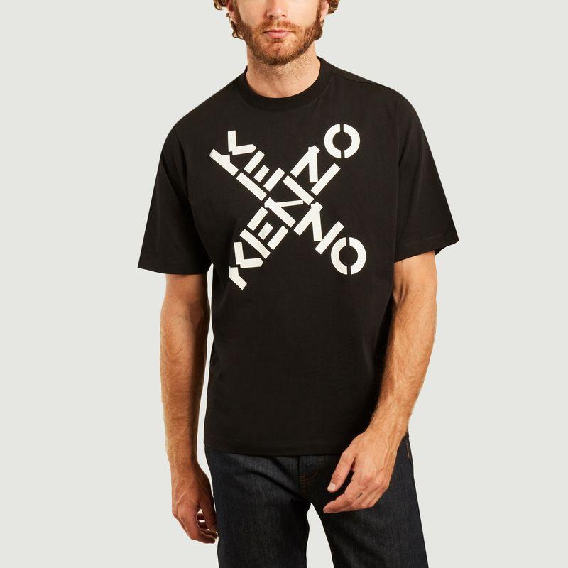 T-shirt logotypé Sport Big X - Kenzo