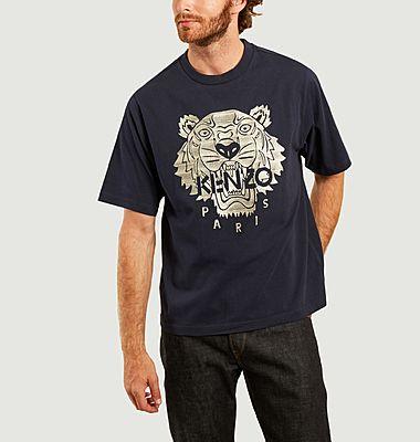T-shirt oversize logotypé