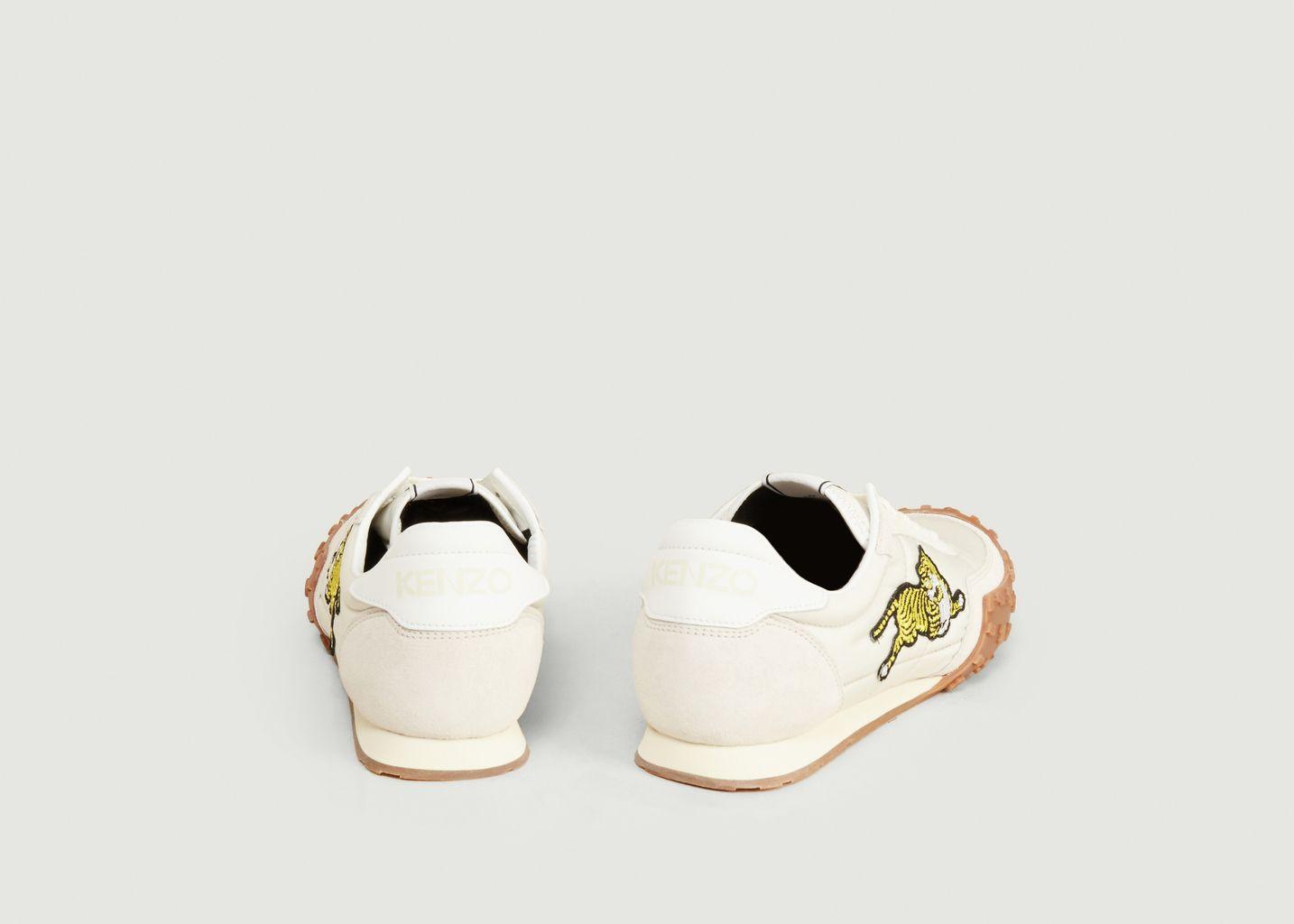 Sneakers en toile et cuir suédé logotypées Kenzo Move - Kenzo