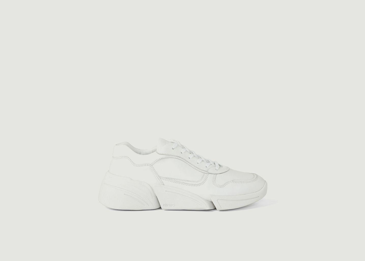 Sneakers basses de running en cuir Kross - Kenzo