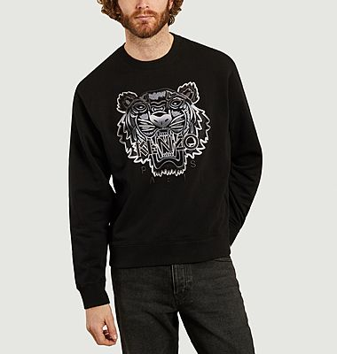 Sweatshirt Gradient Tiger
