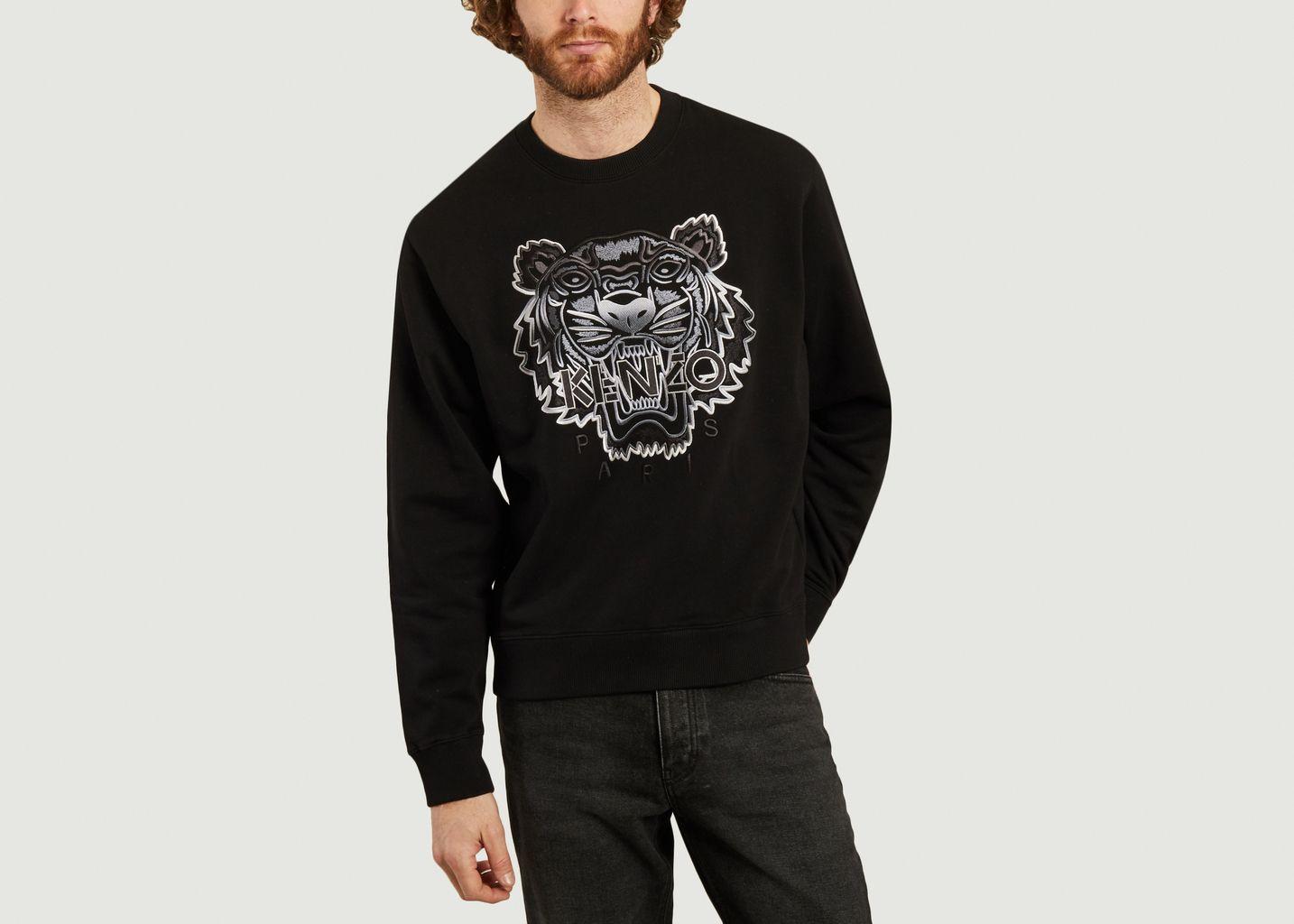 Sweatshirt Gradient Tiger - Kenzo