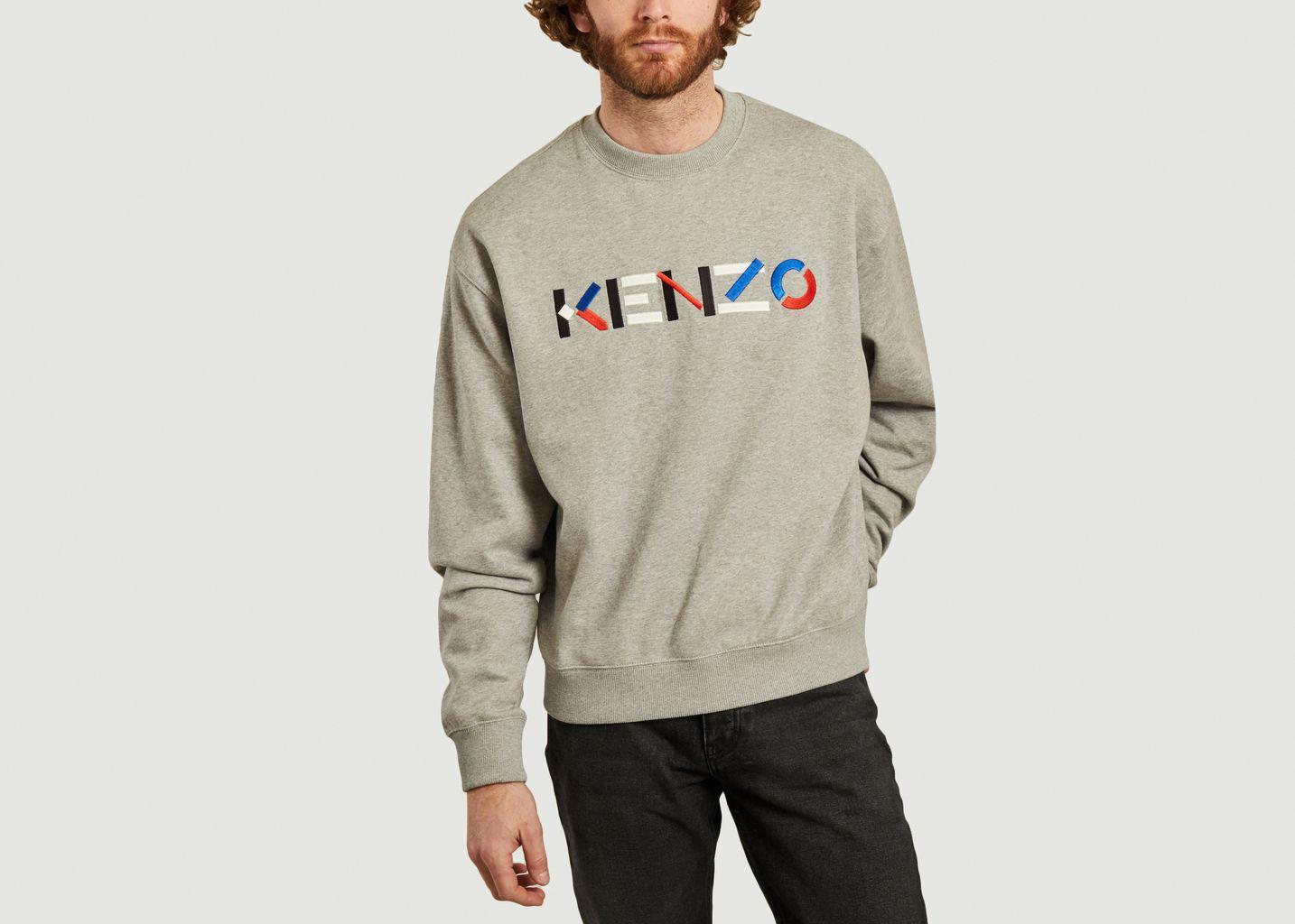 Sweatshirt Logo - Kenzo