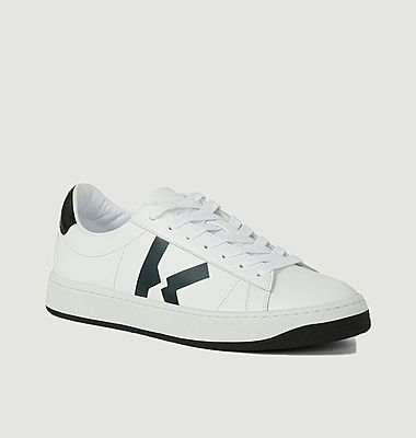 K-logo laces sneakers