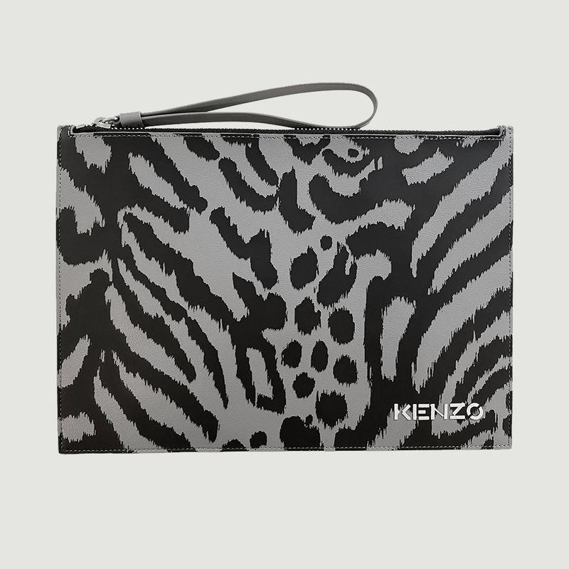 Pochette en cuir motif léopard Kenzo x Kansai Yamamoto - Kenzo