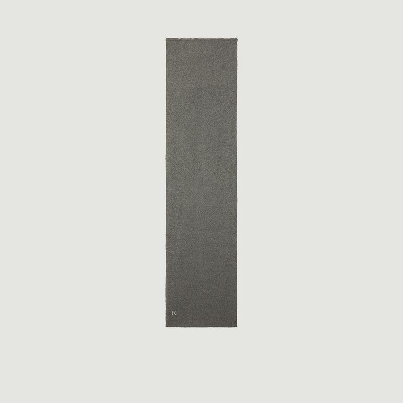 Écharpe en laine et cachemire logotypée - Kenzo