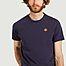 matière T-shirt en coton bio Tiger Crest - Kenzo