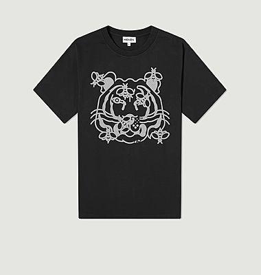 Tee-shirt imprimé tigre