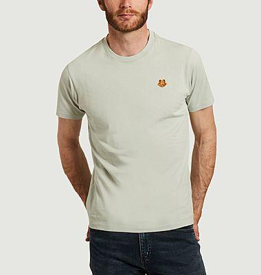 T-shirt siglé en coton bio Tiger Crest